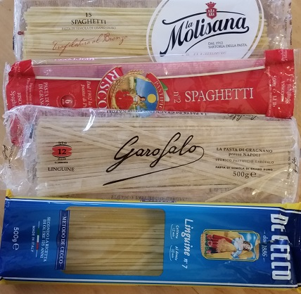 Spaghetti and linguine
