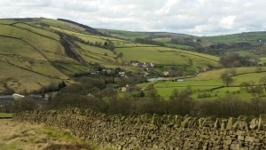 View towards Lothersdale