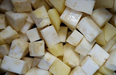 Celeriac and potato