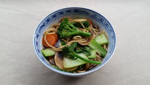 Far Eastern noodle hot pot