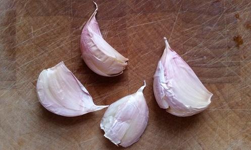 Bashed garlic