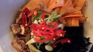 Wild mushroom and miso ramen