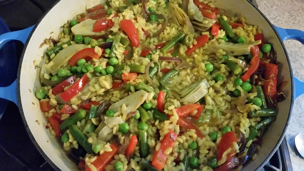 Lucy's Vegetarian Paella