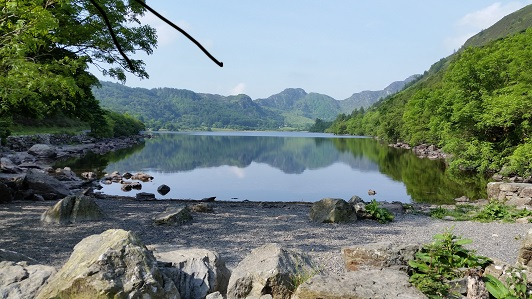 Llyn Crafnant in Snowdonia