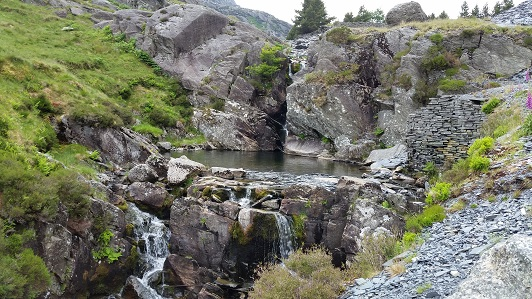 Pool near Tanygrisiau